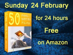 image of book 50 Feel-better Films. Caption Sunday 24 February for 24 hours only Free on Amazon