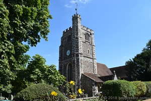 Monken Hadley Church