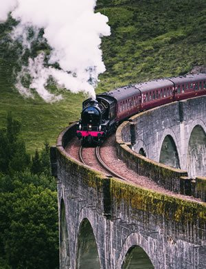 train on viaduct - journey to becoming a beta reader