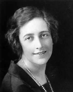 Photograph of Agatha Christie 1925 cozy mystery
