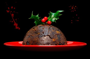 The Lure of Christmas Crime Christmas Pudding