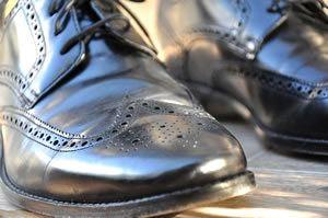 Mens black shoes - Oxfords