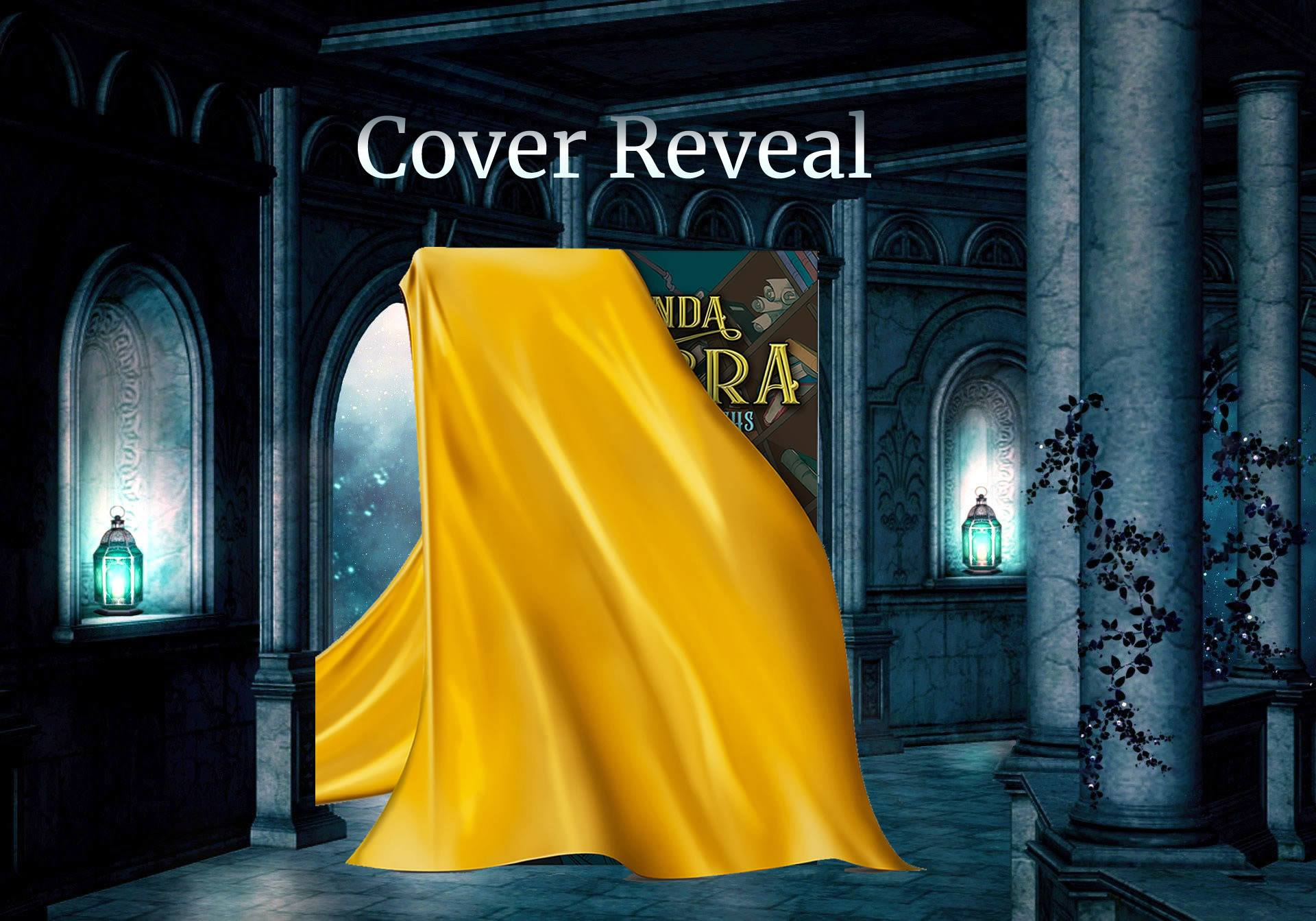 Cover Reveal - Amanda Cadabra and The Hidden Depths by Holly Bell