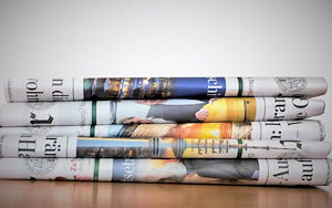 Pile of newspapers: Reviews
