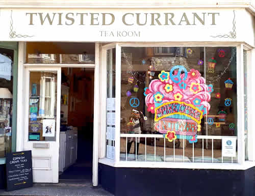 The Twisted Current Tea Room in Porthleven